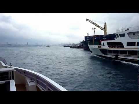 Istanbul (8).   Schiffsfahrt von Iskelesi nach Eminönü
