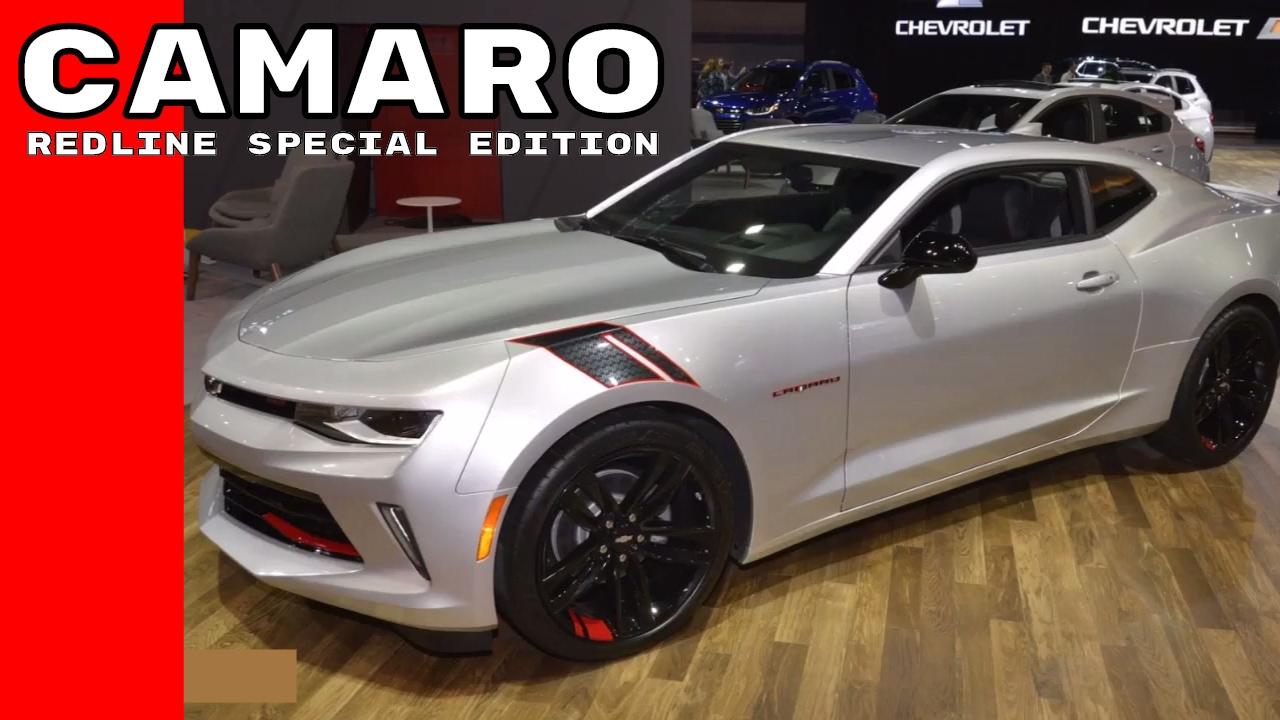 2017 Chevy Camaro Redline Special Edition At Chicago Auto Show