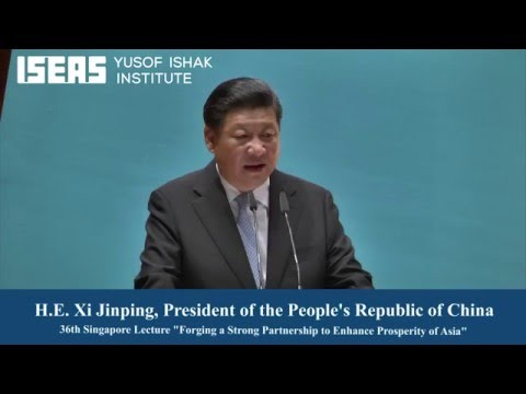 The 36th Singapore Lecture by H. E. Xi Jinping, President of the People's Republic of China