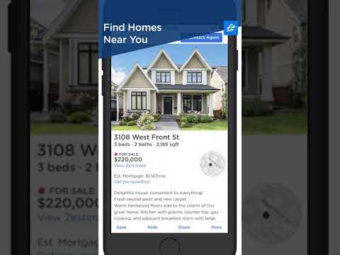 Zillow Find Houses for Sale  Apartments for Rent  Apps