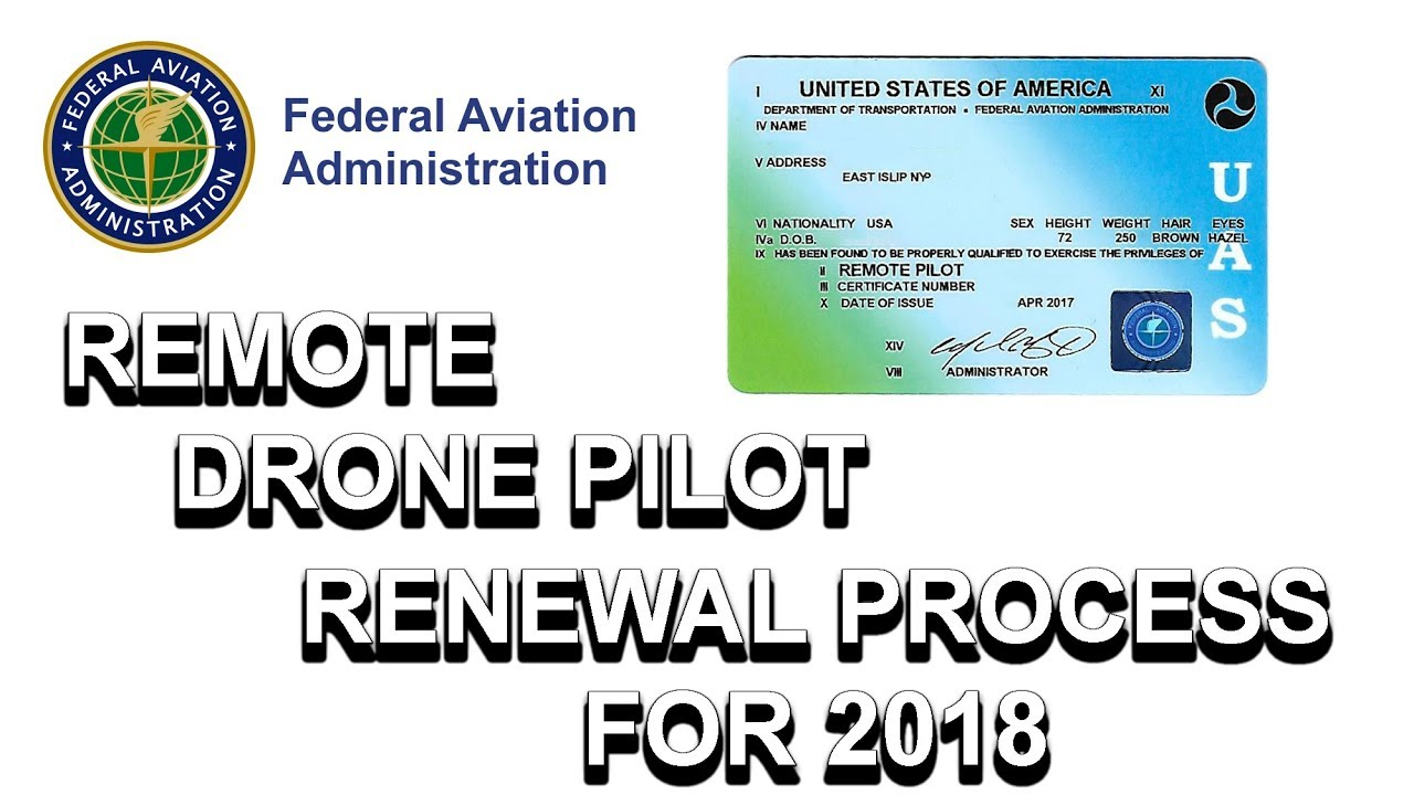 FAA Releases Part 107 Drone License Recertification Requirement
