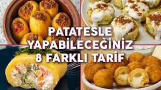 👉🥔 BİR DAHA TARİFİNİ ARAMAZSINIZ: Patatesle Yapabileceğiniz 8 Farklı Tarif