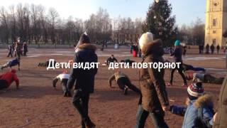 Новогодняя пробежка 1 января 2017 - город воинской славы Гатчина