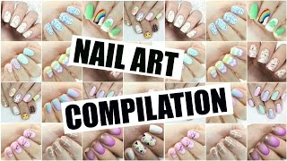 Nail Art Compilation   The Nail Trail   March 2016