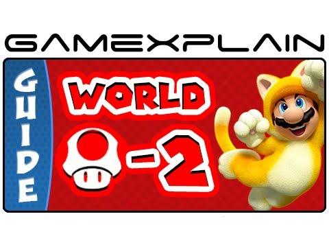 Super Mario 3D World - World Mushroom-2 Spiky Mount Beanpole