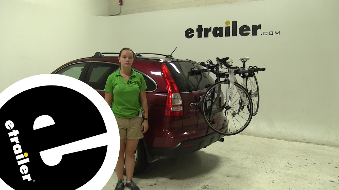 Review Yakima Trunk Bike Racks 2009 Honda Cr V Y02636   Etrailer.com