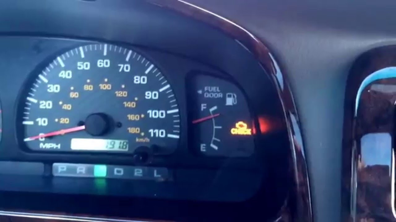 hight resolution of 2000 toyota 4 runner p1780 funky heater problem shifter indicator funky youtube