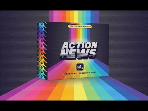 Action News AVAILABLE NOW ON KICKSTARTER