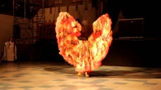Цыганский танец.Зоя Гелевачук(Криворожский цыганский ансамбль