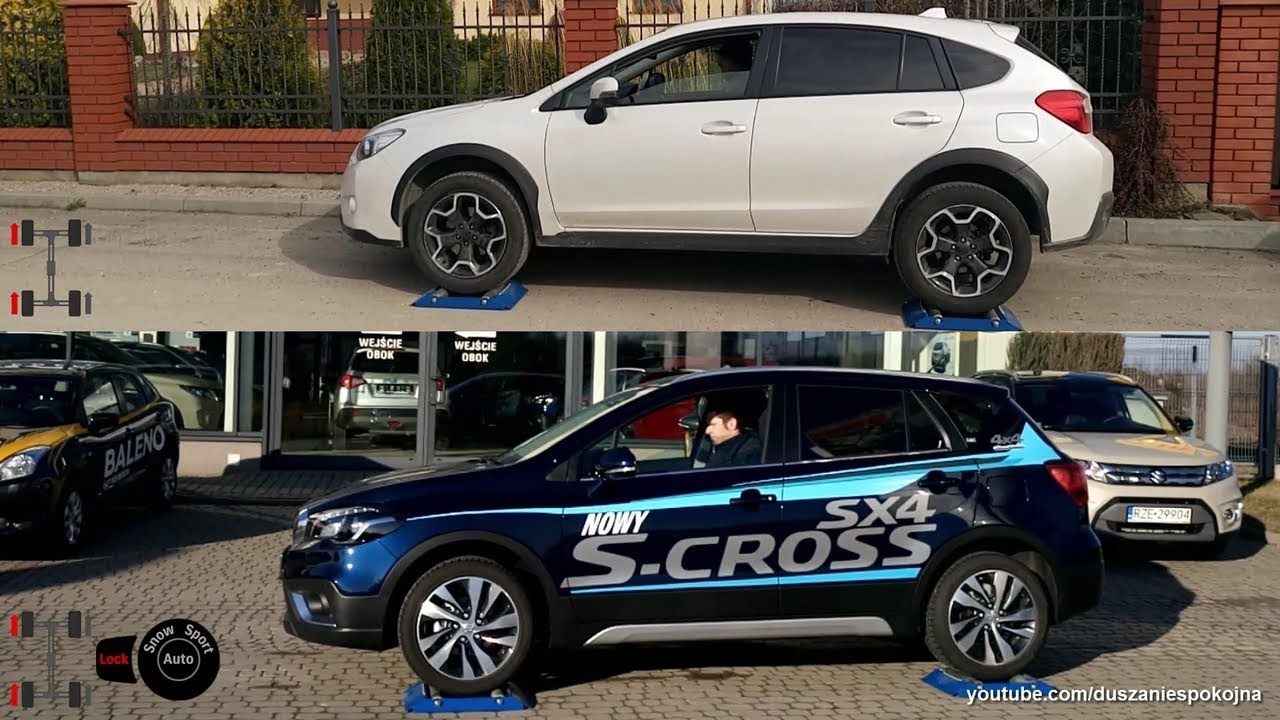 Subaru XV Crosstrek 2 0 S AWD vs Suzuki SX4 S Cross 1 4 Turbo All