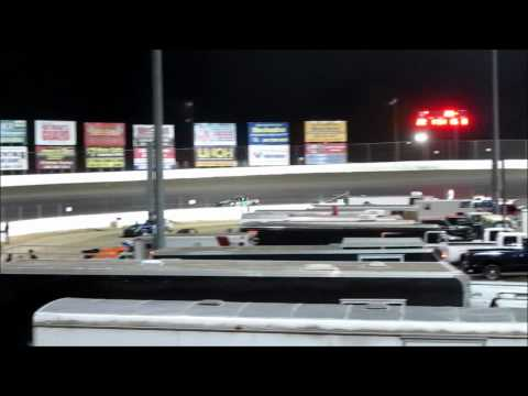 I-55 Raceway Pure Stock Feature Race 4-21-2012 #34 Dave Armstrong.wmv