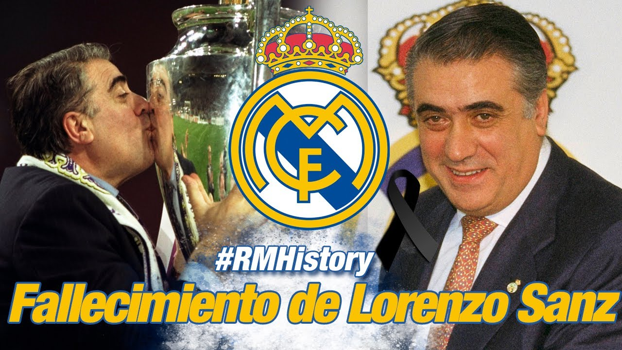 Madridismo is in mourning following the death of Lorenzo Sanz