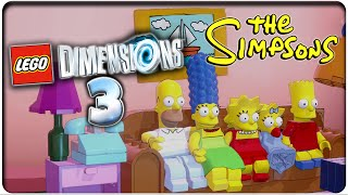 Let's Play LEGO DIMENSIONS Part 3: LEGO Die Simpsons!