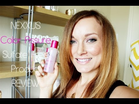 nexxus-color-assure-sulfate-free-hair-care-system-review