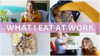 What I Eat In a Day at Work | EASY & Healthy Meals #2