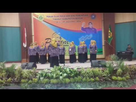 Lagu bogor kasohor Tim Padus Desa Sukamanah Kec.Megamendung juara 1 tngkt kab.bogor porseni 2016