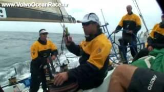 Simon Fisher: Birthday Blues   Volvo Ocean Race 2008-09