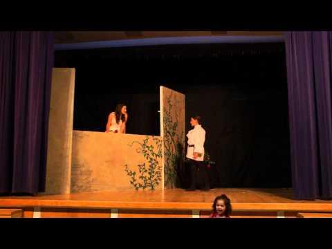 Golden Valley Charter School 7th Grade Romeo and Juliet Graveyard scene 2012