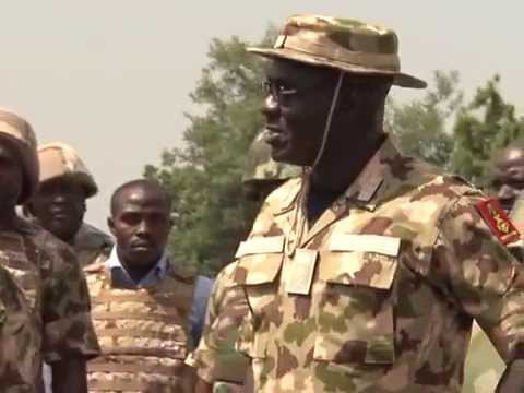 Nigerian Troops Destroy  Boko Haram Camps In Borno
