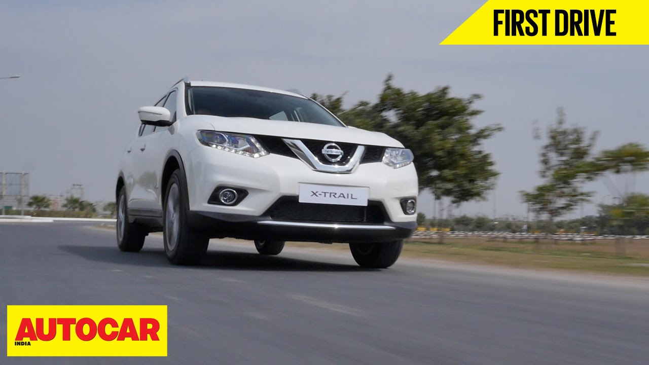 Nissan X Trail Hybrid First Drive Autocar India Youtube