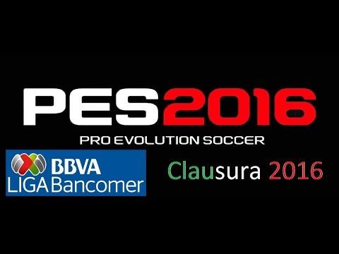 PES 2016 psp Liga MX Versión especial Clausura 2016