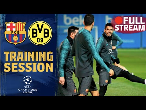 FULL STREAM | Workout Ahead Of The Champions League Clash Against Borussia Dortmund