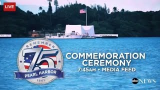 75th National Pearl Harbor Remembrance Day Celebration