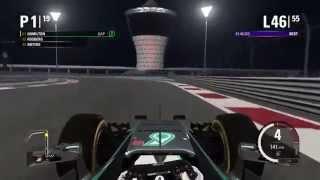 F1 2015 Championship season - Abu Dhabi 19/19 (PS4) - Part 2