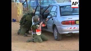 ISRAEL: LEBANON BORDER GUNBATTLE