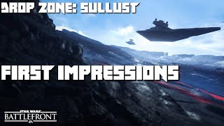 Star Wars Battlefront Beta First Impressions Gameplay - PC Beta - Dropzone on Sullust Planet
