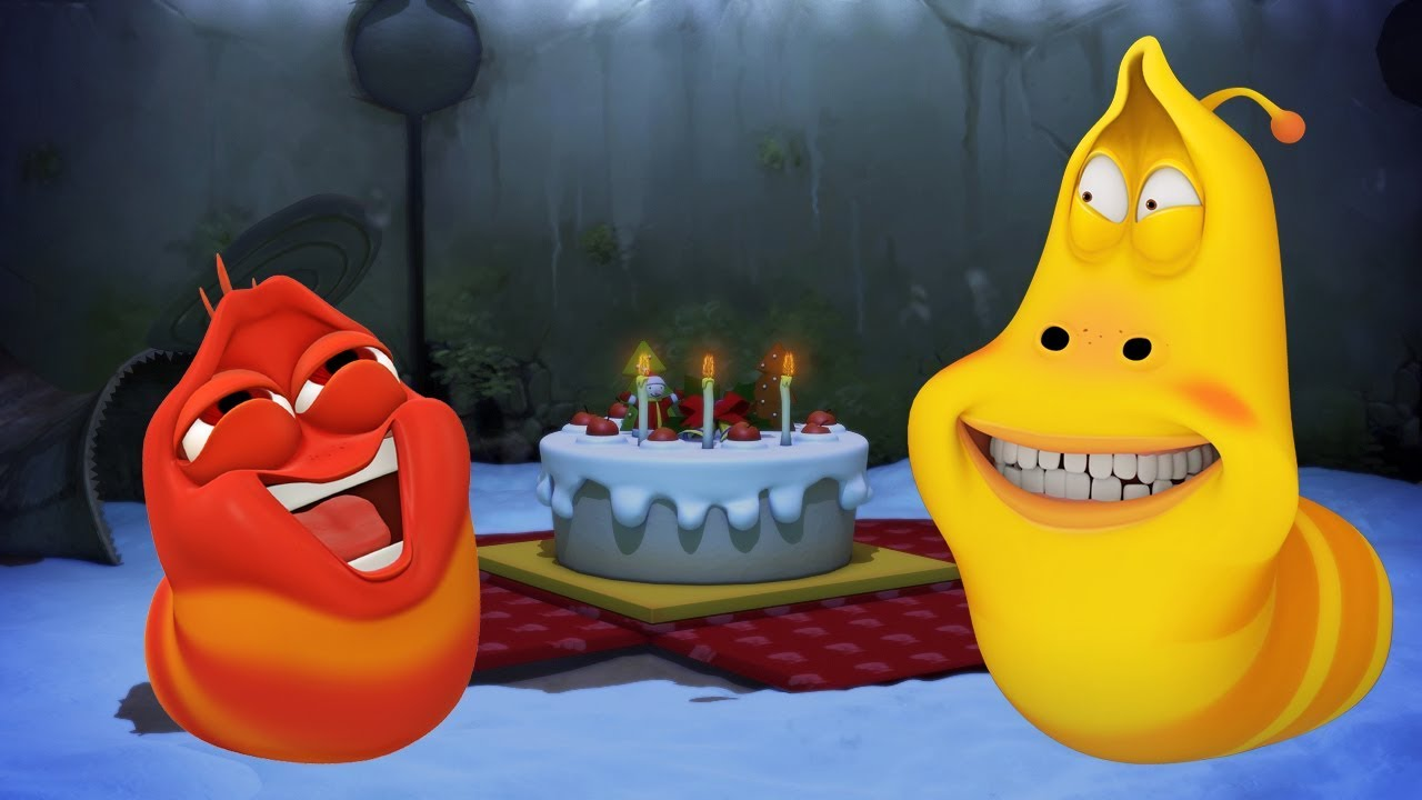 LARVA - SURPRISE BIRTHDAY | Cartoon Movie | Cartoons For Children | Larva Cartoon | LARVA Official
