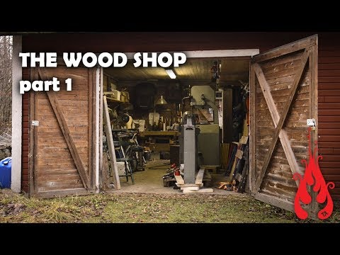 Building the wood shop 1