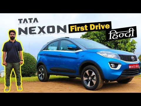 Tata Nexon Review in Hindi - Road Test | ICN Studio