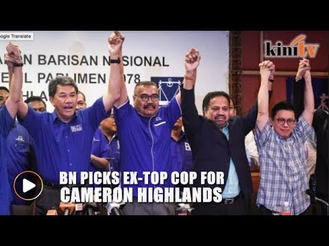 BN announces candidate for Cameron Highlands