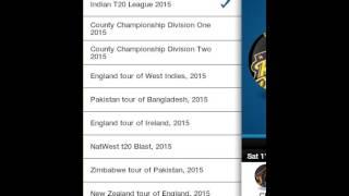 CricLIVE: Live Cricket Scores