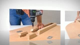 Сделать раскладной кухонный стол своими руками(, 2014-08-16T14:35:10.000Z)