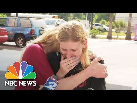 Santa Fe Student On School Shooting: 'I Was Scared For My Life' | NBC News