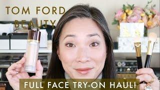 Tom Ford Beauty - Try-On Haul / Full Face Demo