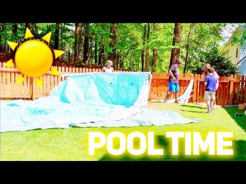 POOL TIME!!! | Family 5 Vlogs