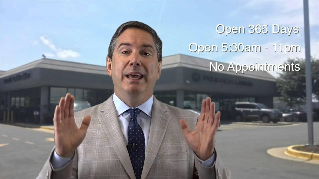 Pohanka Lexus Service Department Open 365 Days A Year No