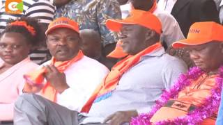 Scramble For Western:Section of region leaders say Odinga's recent tour had no impact