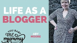 Wonder what life's like as a full time blogger? 27th April episode