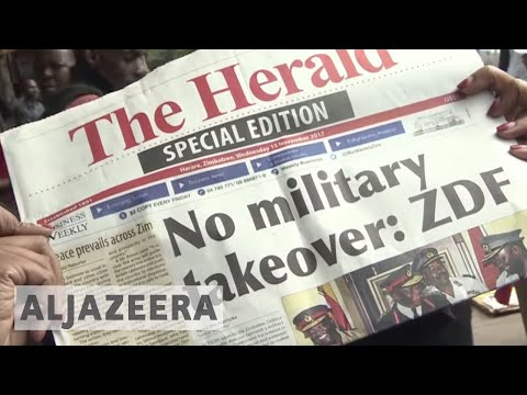 Download Youtube: Zimbabwe crisis: Mugabe confined to home as army takes control