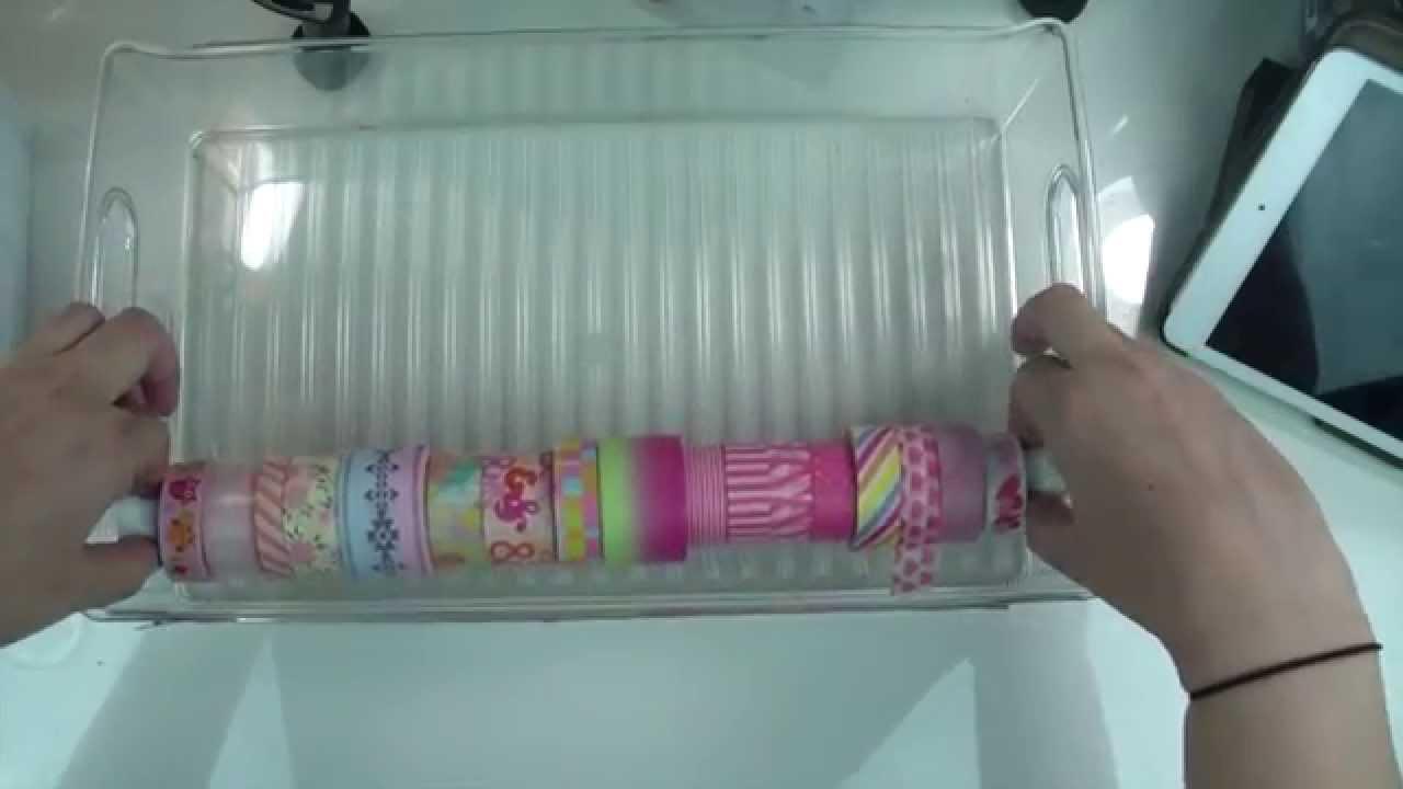 DIY Washi Tape DispenserYouTube