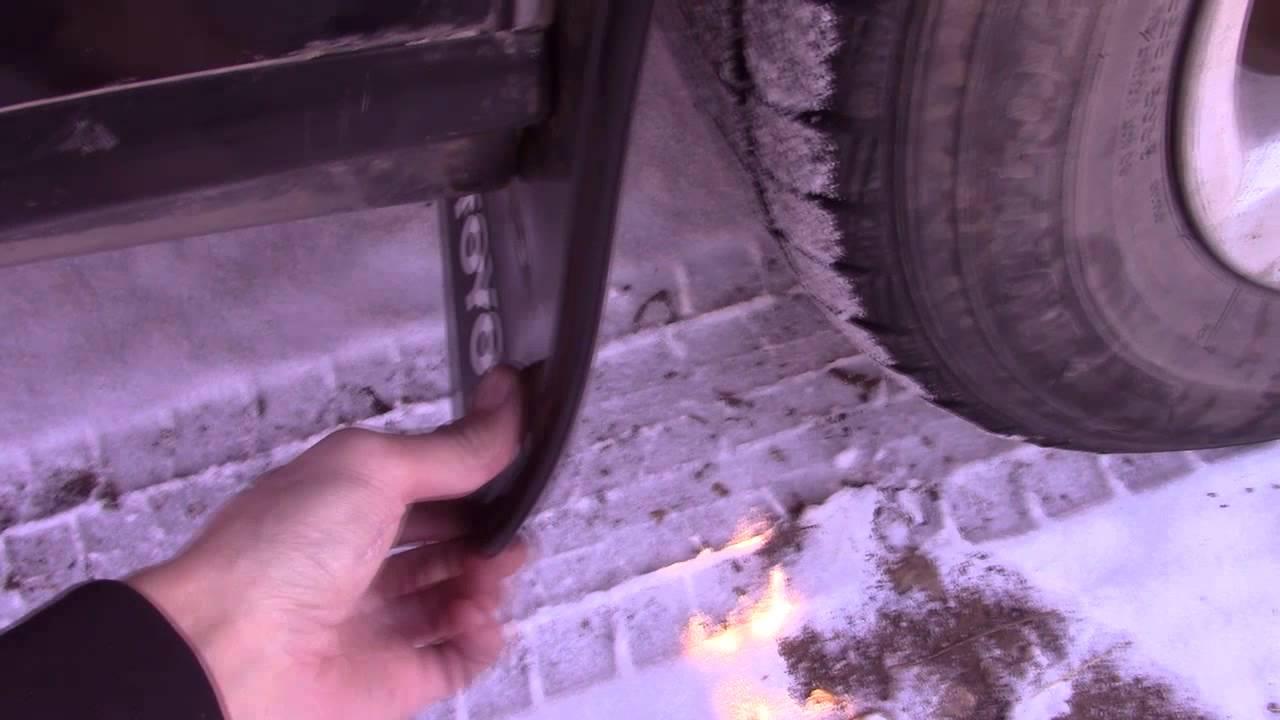 Toyota Crown: брызговики и щетки стеклоочистителя