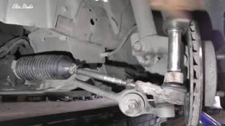 Замена рулевой тяги на Ford Sierra