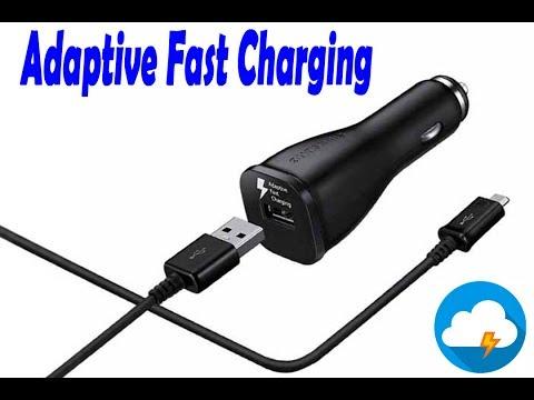 Автозарядка Samsung Fast Charge с кабелем