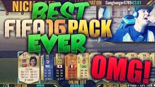 FIFA 16 : OMFG Legend/TOTS /Inform & MOTM In A Pack ✪ Best FIFA 16 PACK EVER ✪