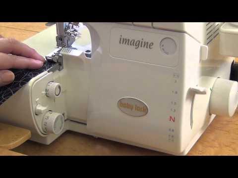 easy serger machine