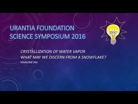 Crystallization of Water Vapor